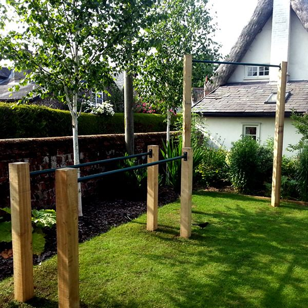 Image result for outdoor pull up bar diy | Outdoor toys ...