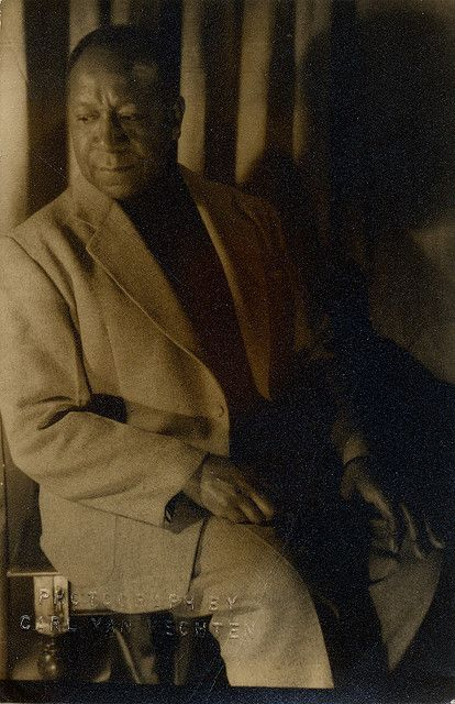 1953   Painter Beauford Delaney, as photographed by Carl Van Vechten in 1953.  Image courtesy of Marquette University Archives.