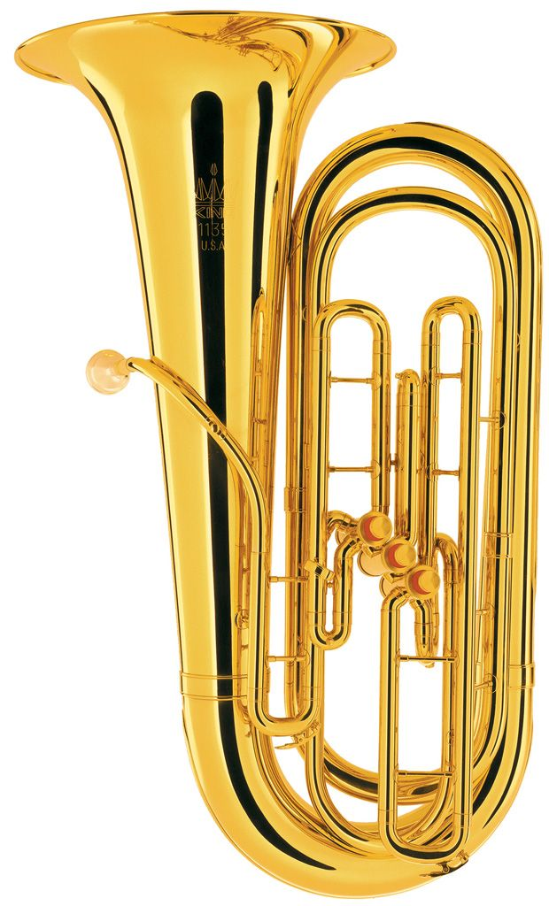 King 1135 3 Valve Brass BBb Tuba