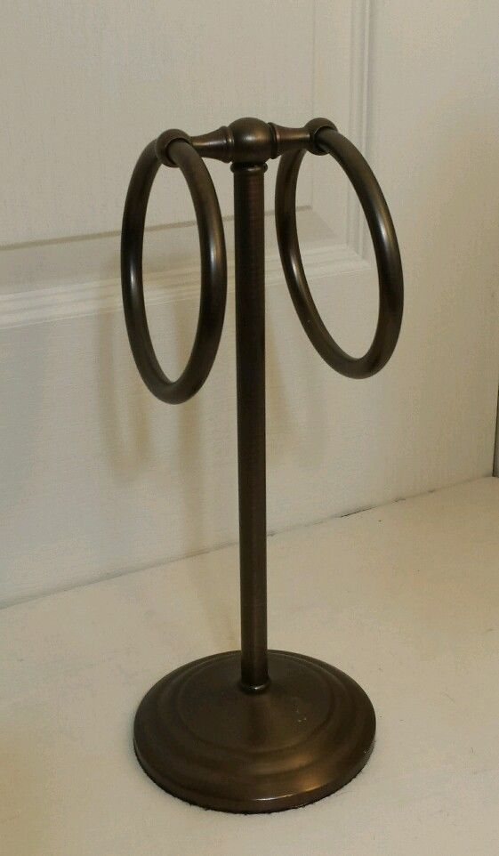 Counter Top Hand Towel Stand Bathroom Accessories Fingertip Oil Rubbed Bronze Hand Towel Stand Fingertip Towels Oil Rubbed Bronze