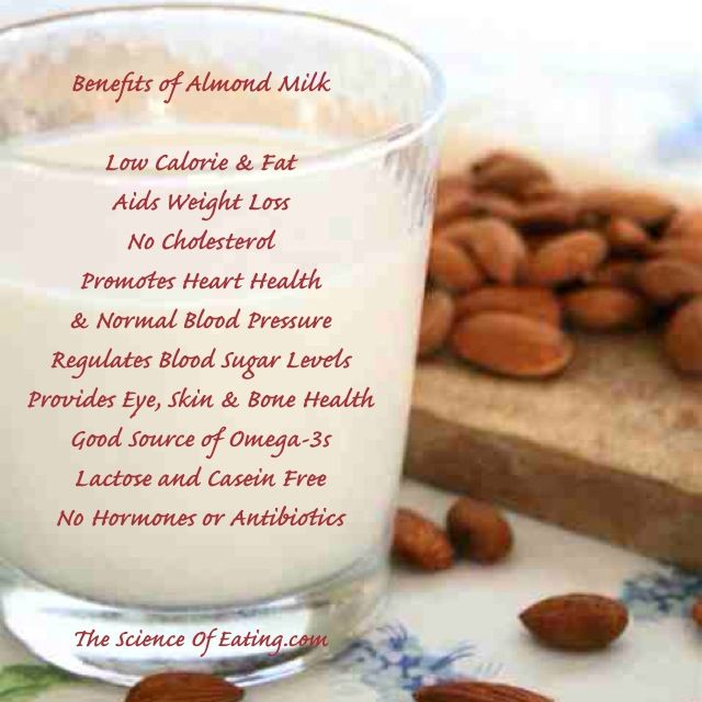 Great Tasting Nutrient Dense Almond Milk Is Derived From Almonds Which Are Among The Healthiest Nuts In The World Th Almond Benefits Almond Nutrition Tracker