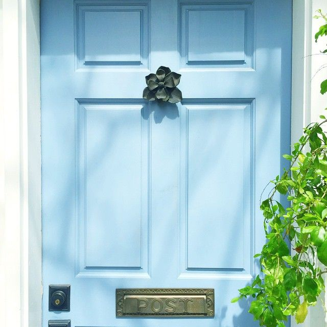 Explore Rhyme And Reason Love Blue and more! & light blue door in Charleston S.C.   Colorful doors   Pinterest