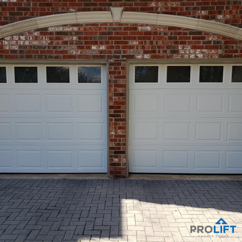 Garage Door Windows With Frosted Glass For Privacy In 2020 Garage Doors Doors Garage Door Windows