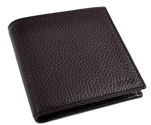 14056d6285c Gucci Mens 150413 Dark Brown Pebbled Leather Coin Pocket Bifold Wallet     See this great product. Note  It s an affiliate link to Amazon   Leathermenswallet