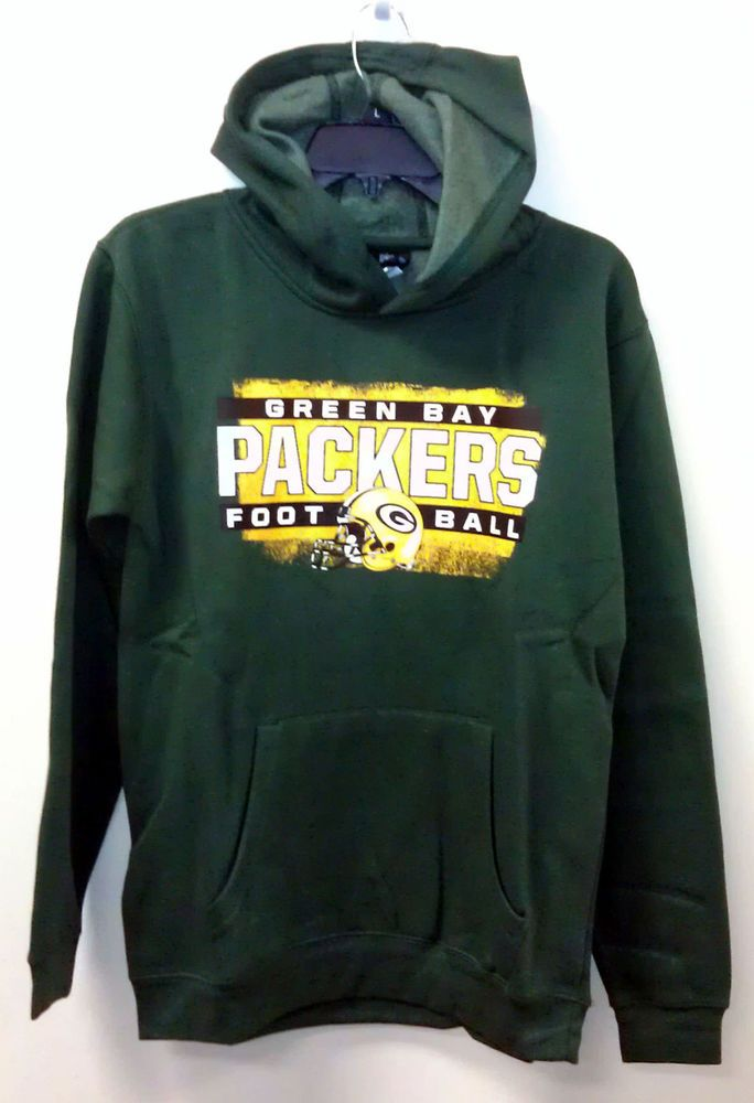 new concept 82091 70a23 NEW Green Bay Packers Hoodie / Sweatshirt YOUTH LARGE 14-16 ...