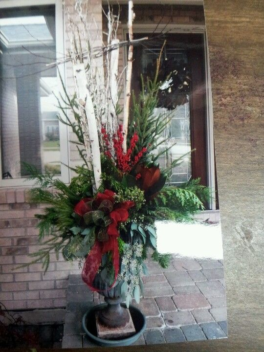 Holiday Wreaths For Front Door Christmas