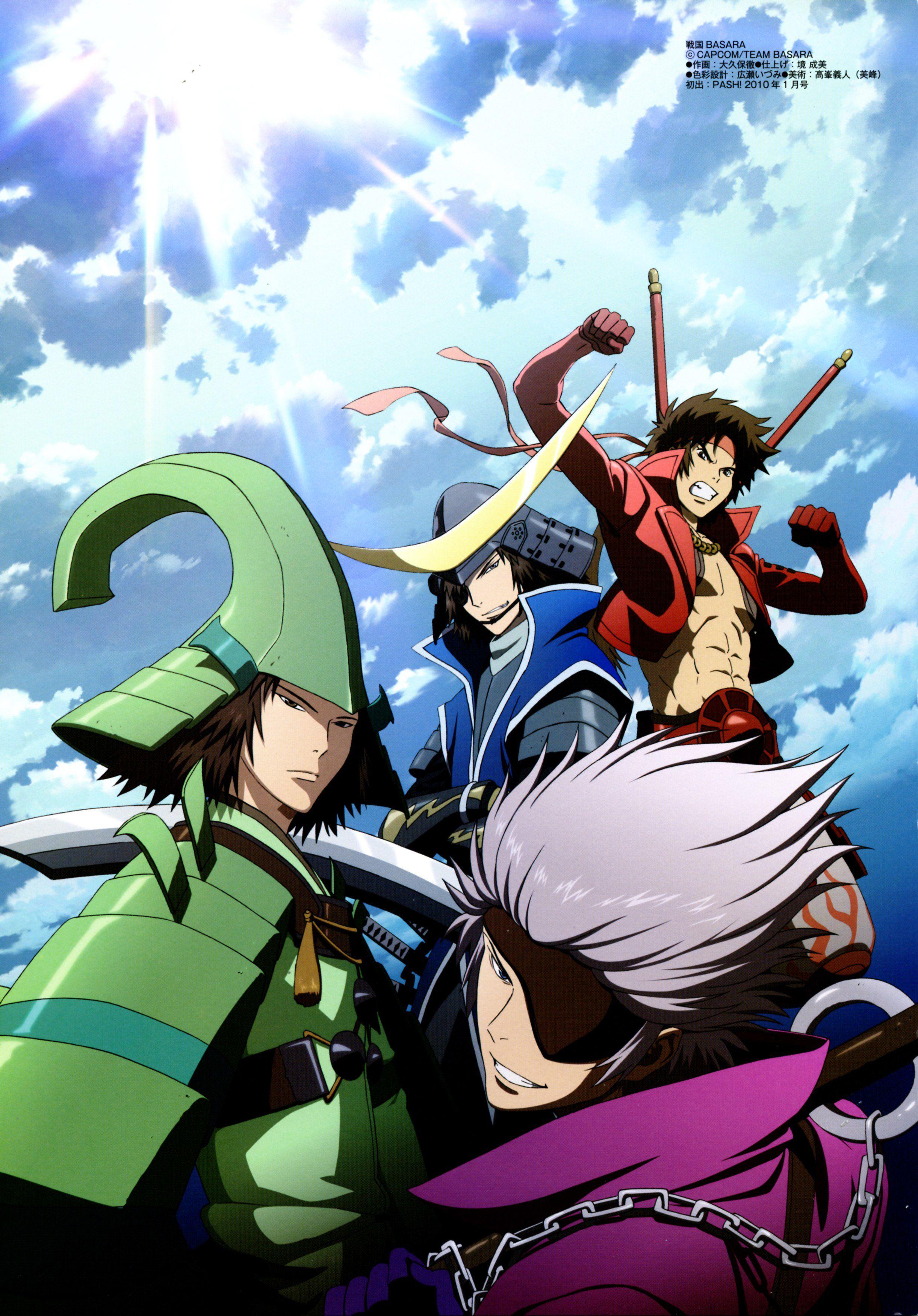 Favorite Video Game Series Sengoku Basara My favorite