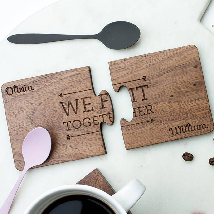 We Fit Together Coaster Set