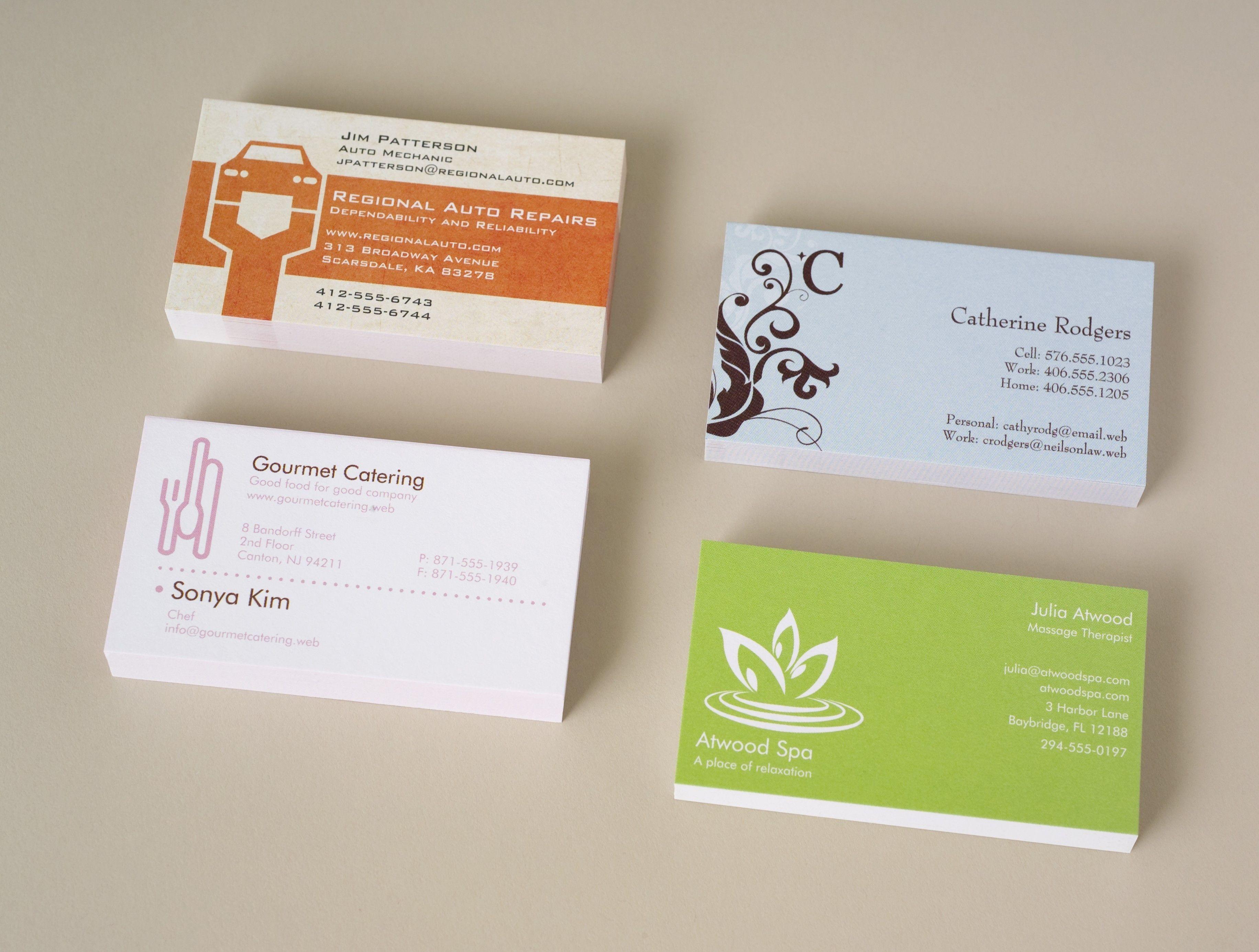 Pin Oleh Chintya Dewi Di Business Cards Template Printable