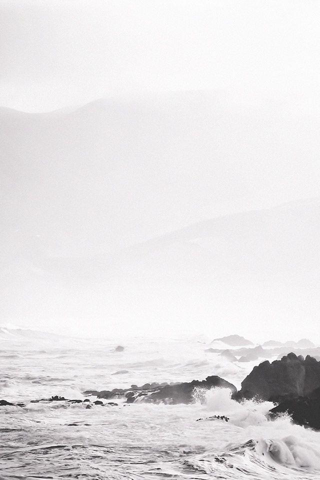 LOUISA nextstopfw   iphone4 I phone5 iphone6 wallpaper background screen design nature sea beach grey cloudy rocks