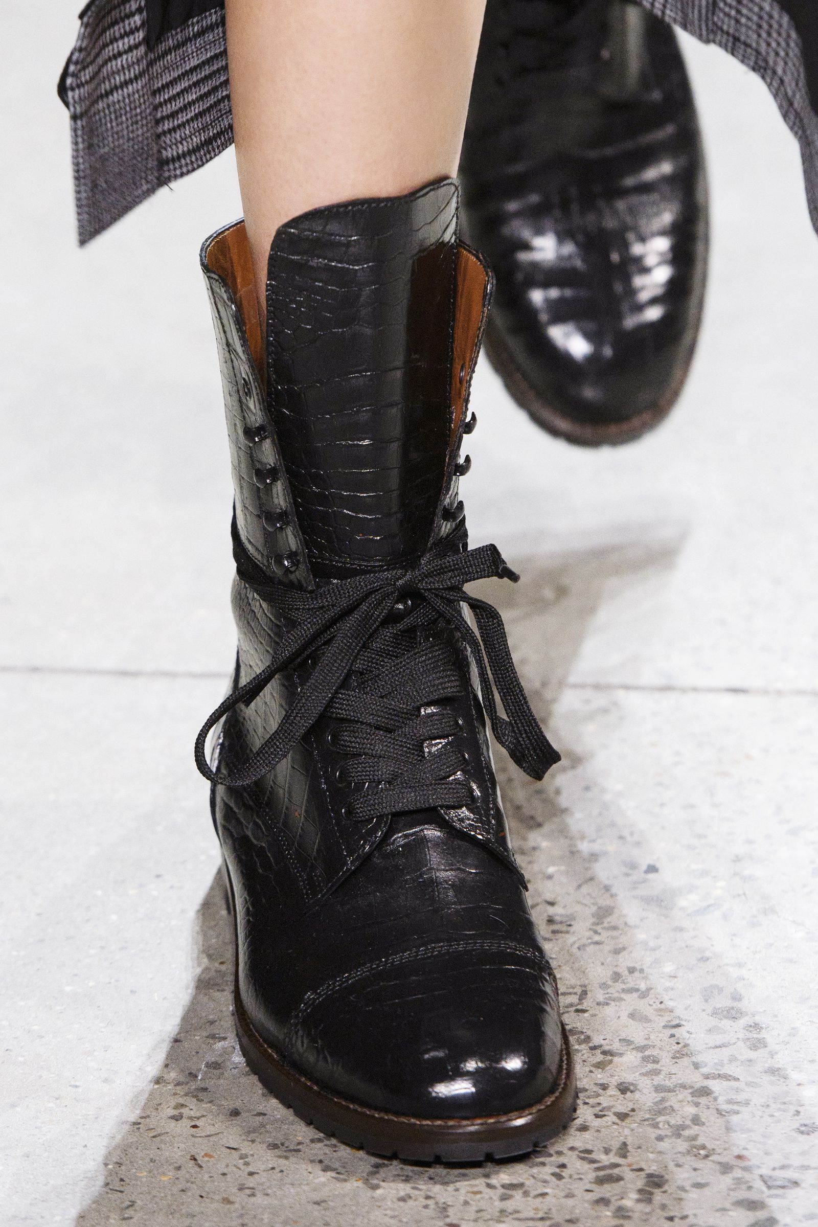 Fashion week Fashion Fall combat boots pictures for woman