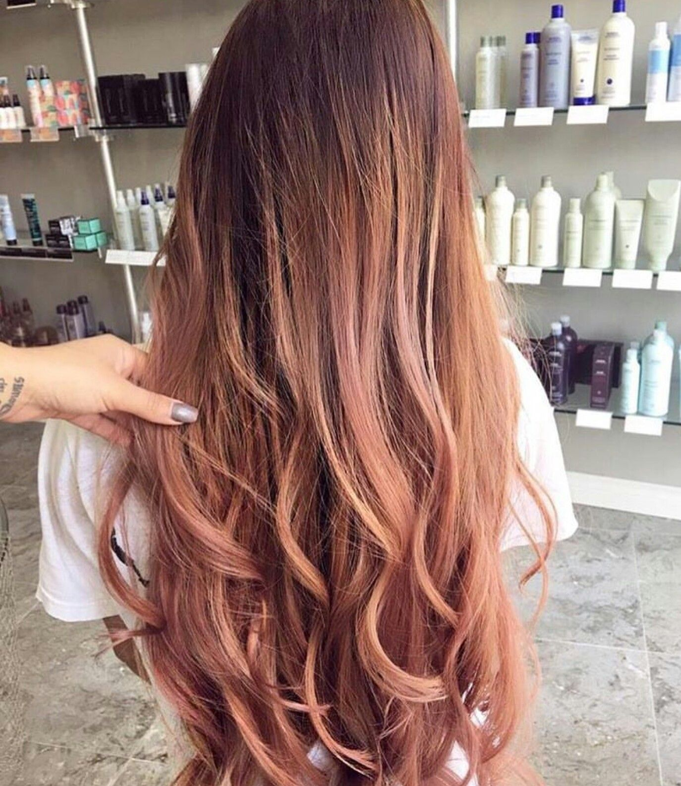rose gold hair color styles pinterest hair coloring. Black Bedroom Furniture Sets. Home Design Ideas