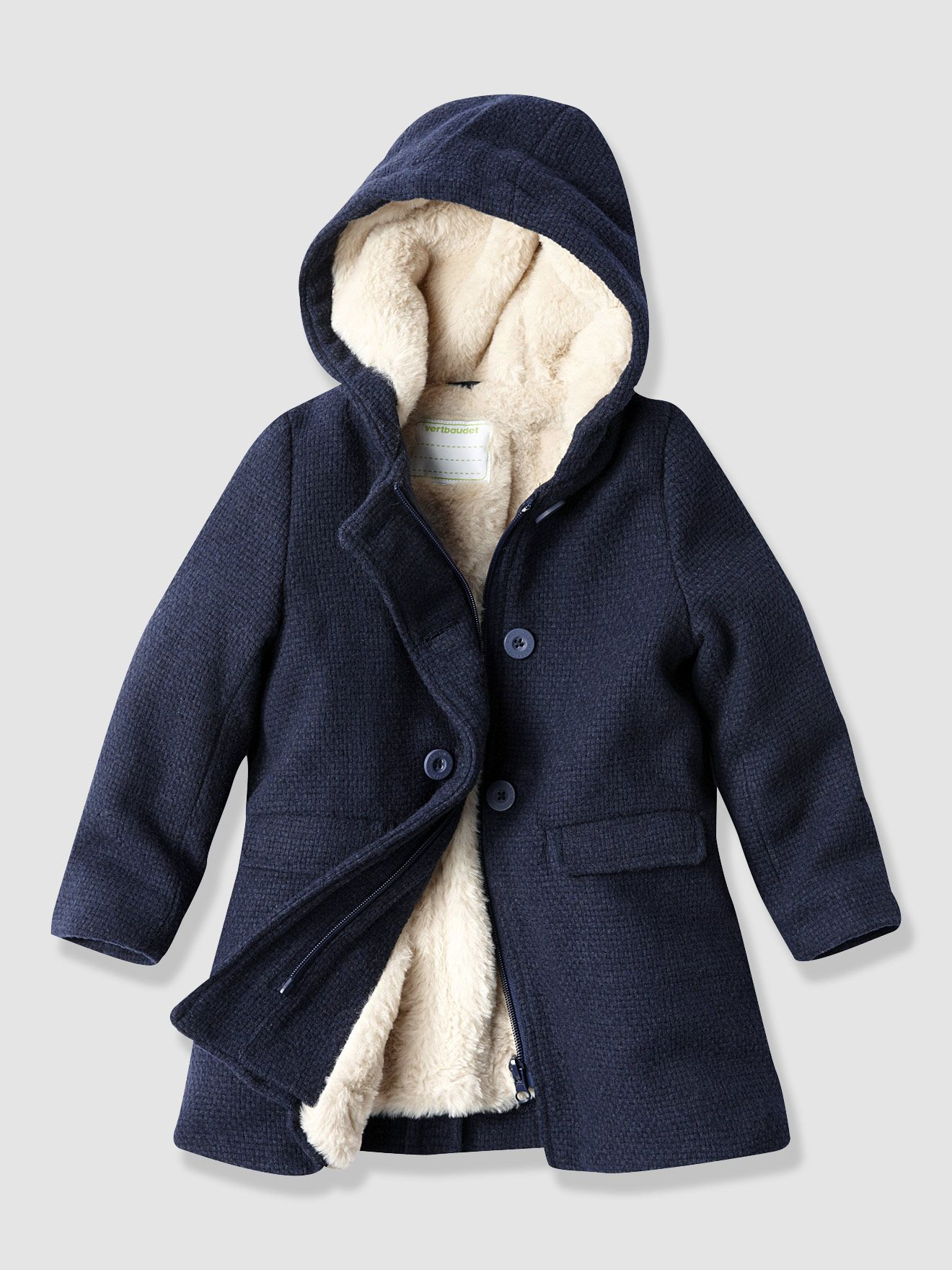 a0e66a28165b Girl s Fur-Lined Coat
