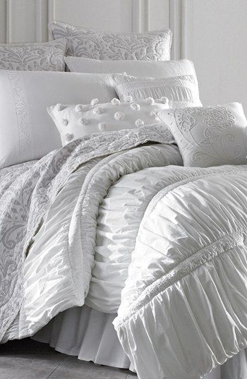Dena Home Morning Dove Comforter White Comforter Luxury