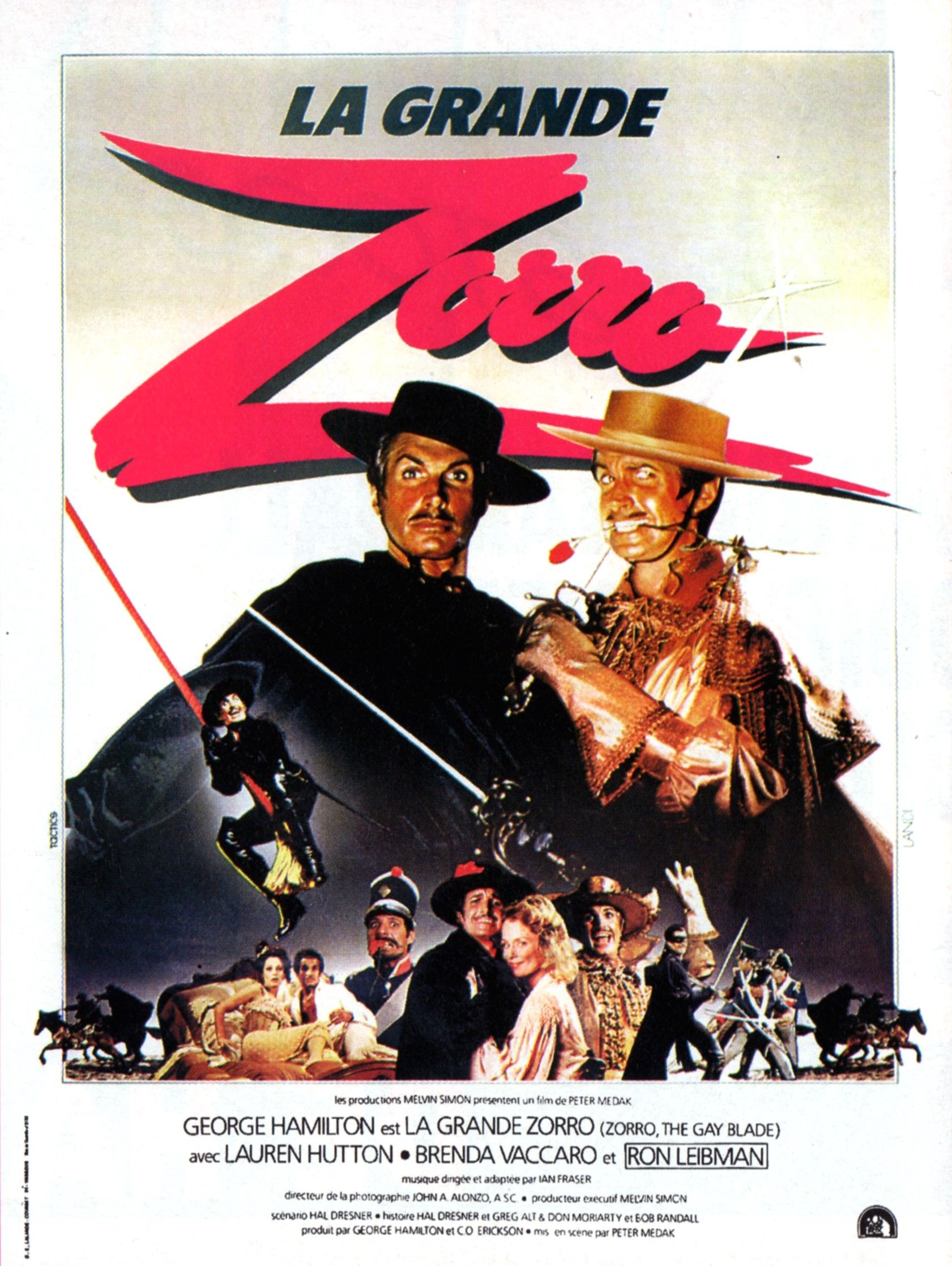 La Grande Zorro parodie américaine sur zorro Full movies