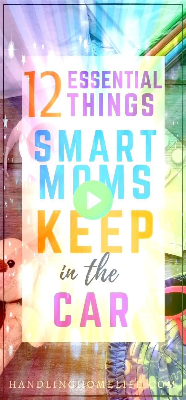 Mom car essentials to keep kids happy on the road Organization hacks for busy moms on the go Mom car essentials to keep kids happy on the road Organization hacks for busy...