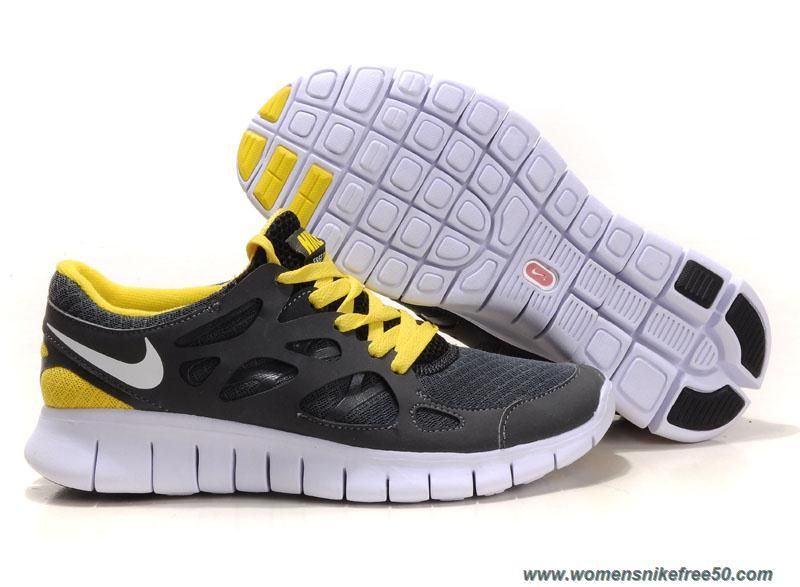 Alegrarse Mathis tuberculosis  Size 12 Nike Free Run 2 443815-017 Anthracite White Black Sonic Yellow  Outlet | Nike free run 2, Nike free, Running shoes nike
