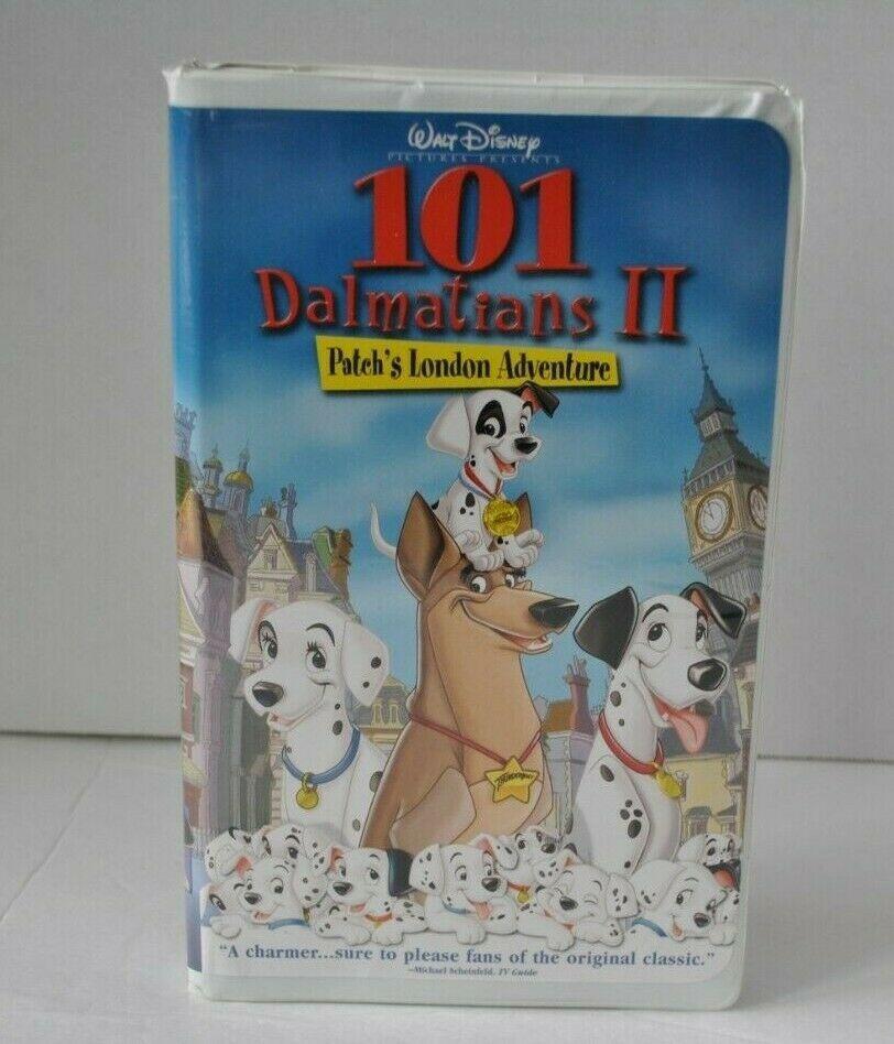 101 Dalmatians Ii Patchs London Adventure Vhs 2003 Disney