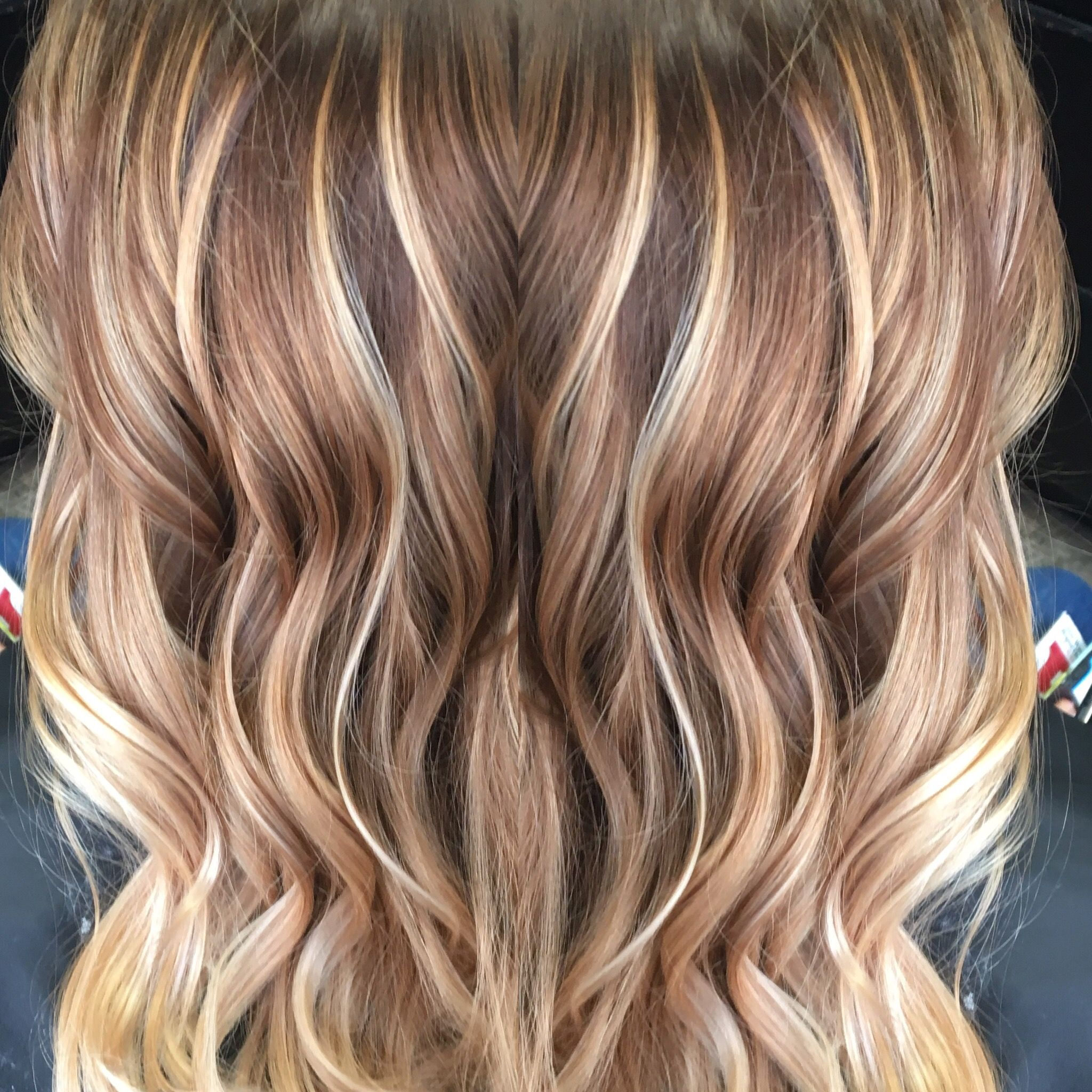 Caramel And Blonde Balayage Balayage Hair Blonde Balayage Hair Styles