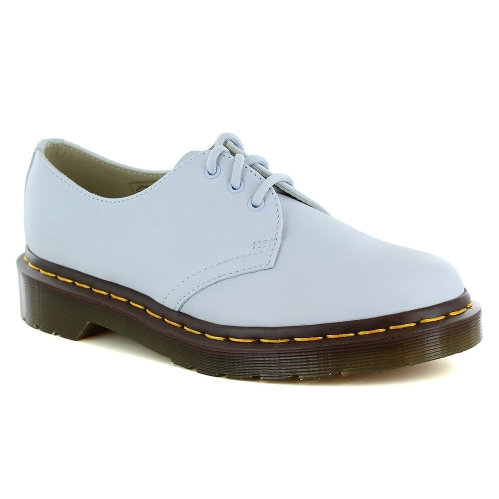 Dr Martens 1461 Womens Leather Shoes - Blue Moon