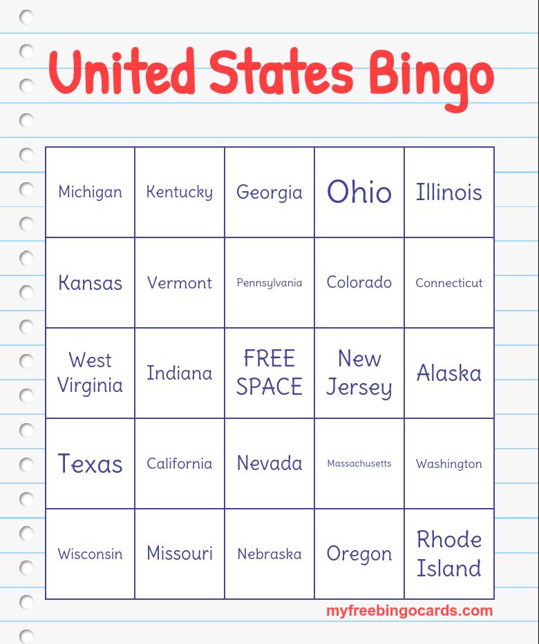 Bingo Card Generator, Free