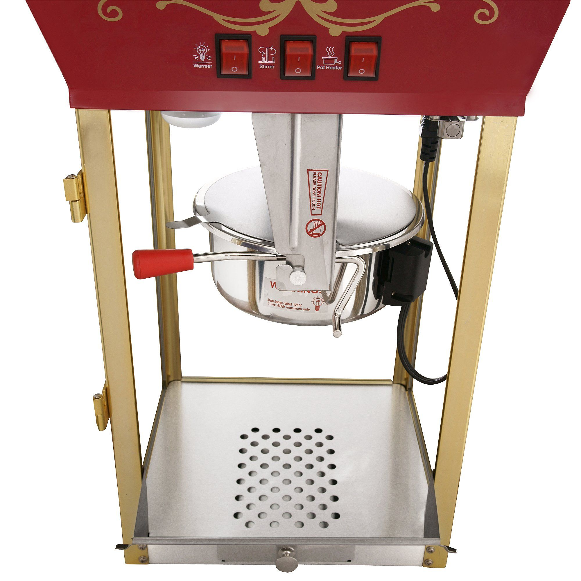 Great Northern Popcorn Red Matinee Movie Theater Style 8 Oz Ounce Antique Popcorn Machine Visit The Image Li Popcorn Machine Great Northern Popcorn Popcorn