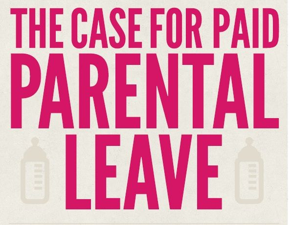 Infographic The Case for Paid Parental Leave - Parental leave - Fmla Form