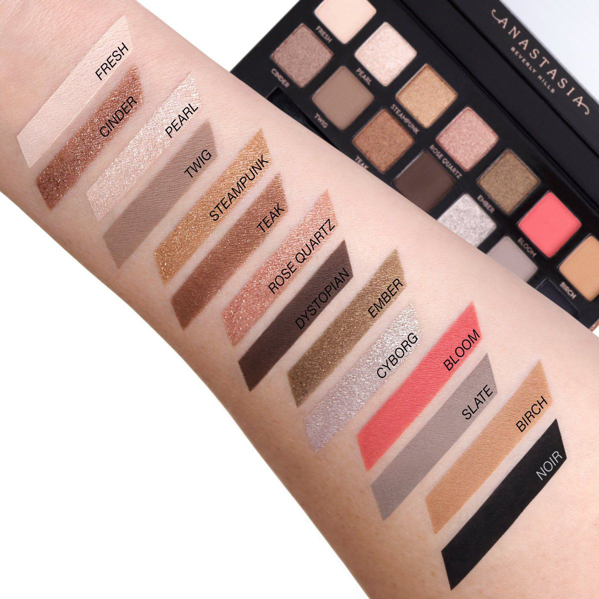 Fashion style Hairbest and Beauty drugstore eyeshadow palettes for lady