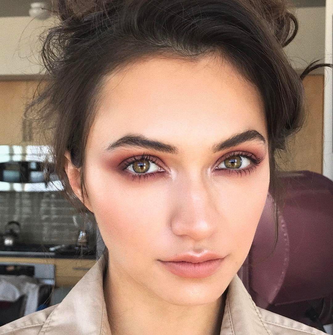 Burgundy makeup makeup by sarah redzikowski las vegas
