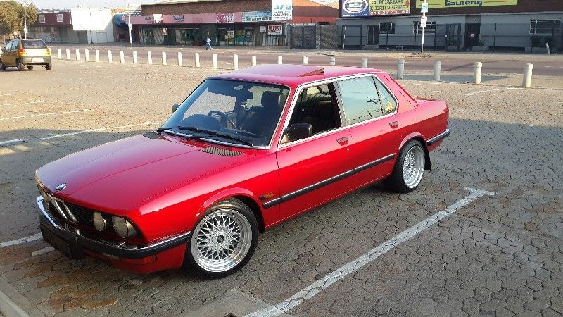 1987 Bmw 525e 5 Series Sedan City Centre Gumtree South Africa