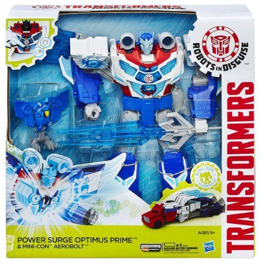 MACHINE BOY TRANSFORMERS OPTIMUS PRIME ROBOT TRUCK ACTION FIGURE KID PLAYSET TOY