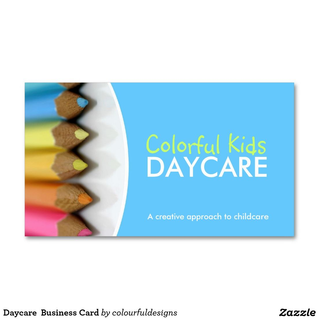 Daycare Business Card | Business cards and Business