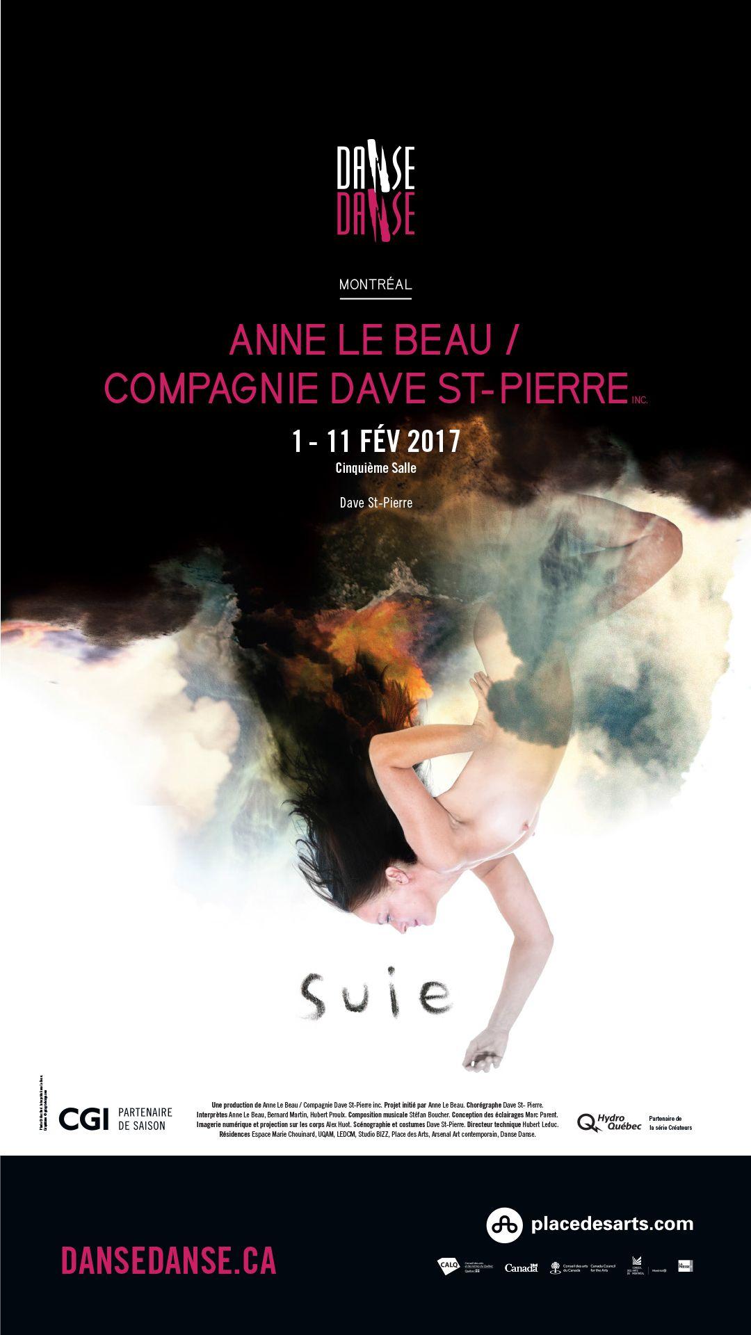 L'impétueux Dave St Pierre et Anne Le Beau s'inspirent de