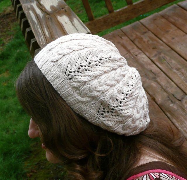 Ravelry Cascade Beret Pattern By Kimberly Porter Knit Hats