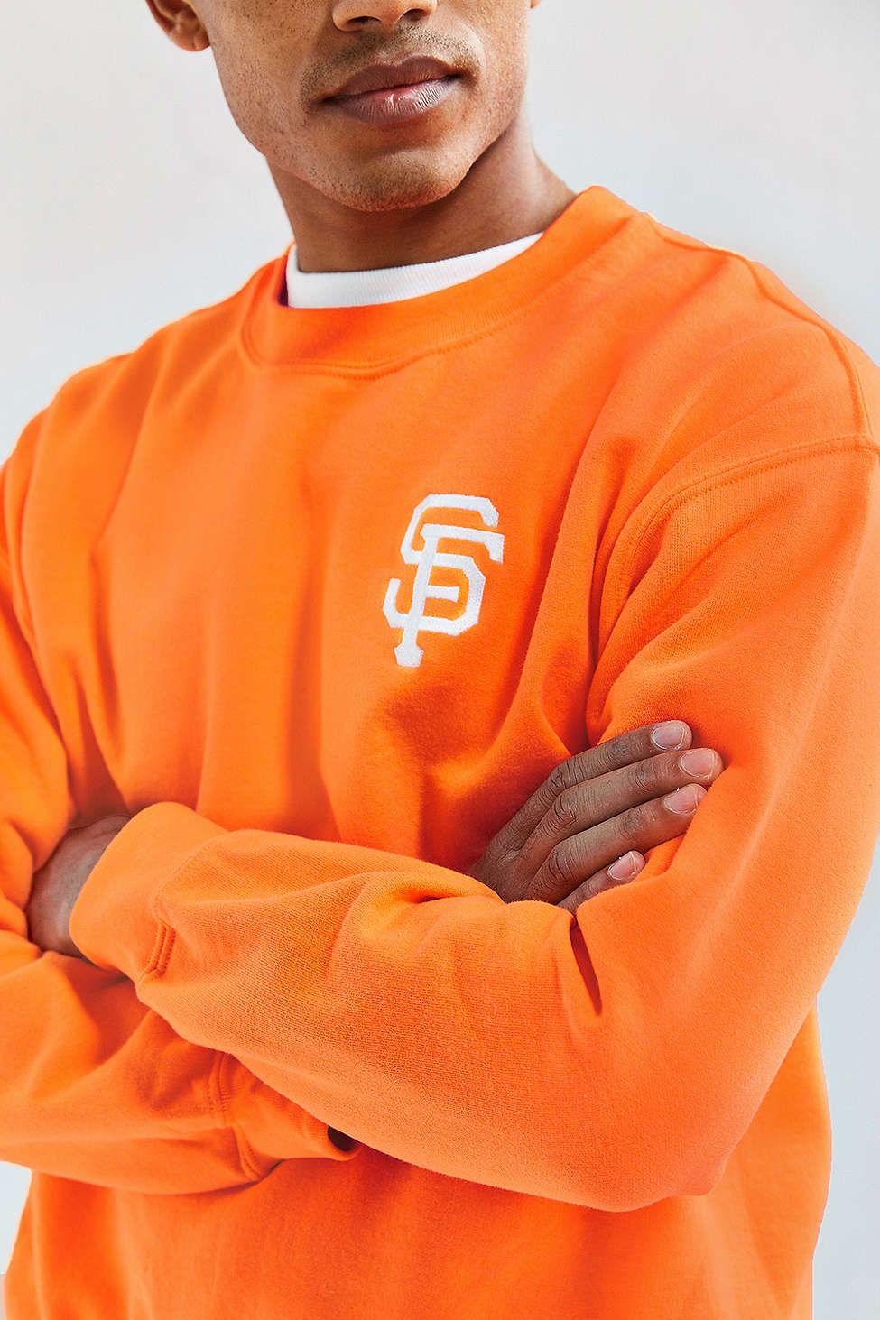 Predownload: San Francisco Giants Fleece Crew Neck Sweatshirt Crew Neck Sweatshirt Sweatshirts Long Sleeve Tshirt Men [ 1463 x 975 Pixel ]