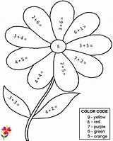 color the hidden picture multiplication worksheets