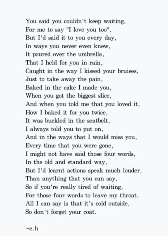It\'s your loss. Not mine. | Quotes & Life | Eh poems, Poems ...