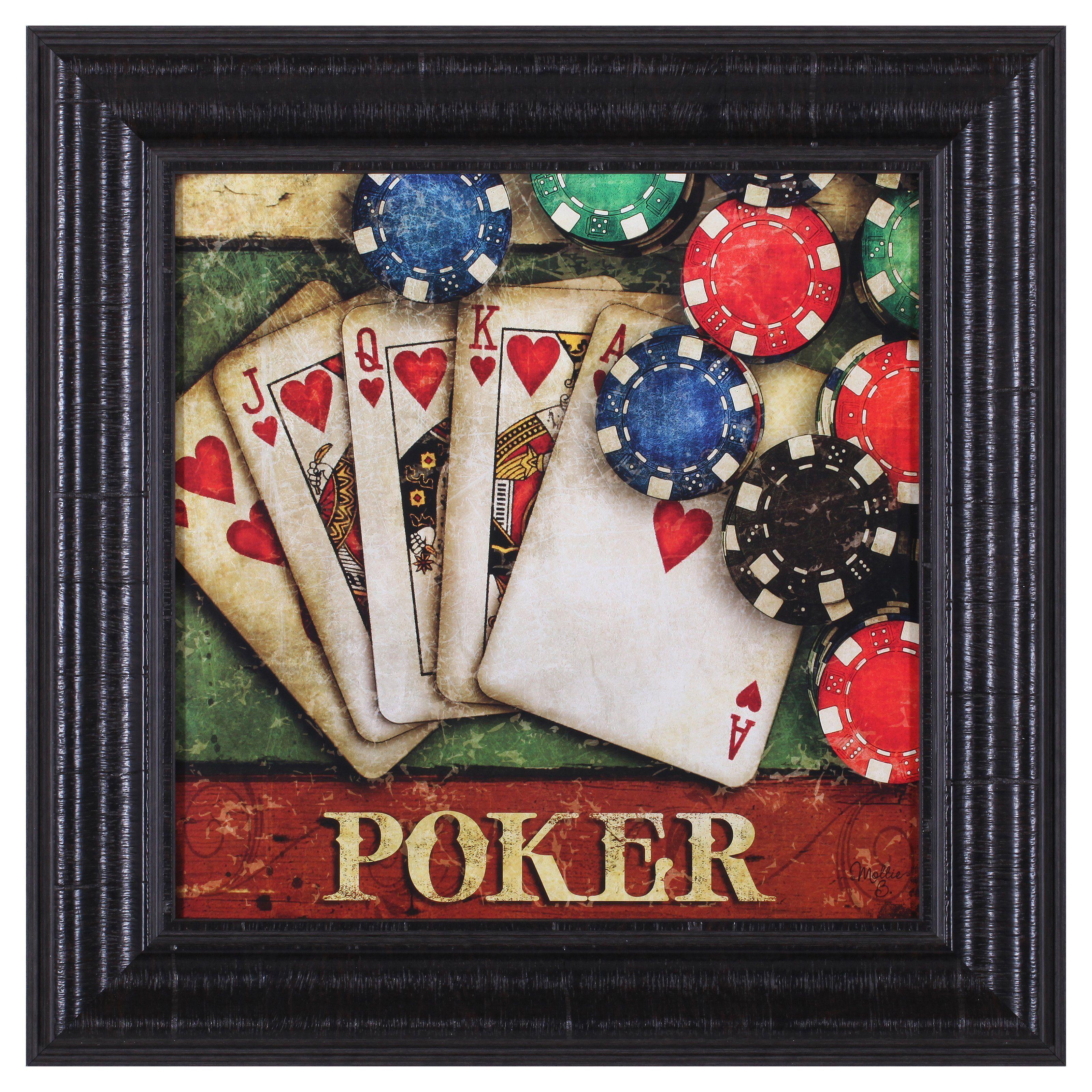 Art Effects Poker Framed Wall Art - H85215 | Framed wall ...