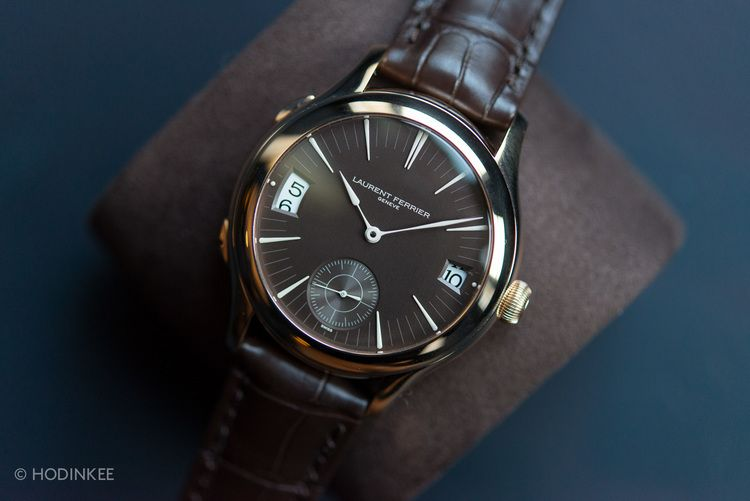 Hands-On With The Latest From Laurent Ferrier, Live From Geneva — HODINKEE - Wristwatch News, Reviews, & Original Stories