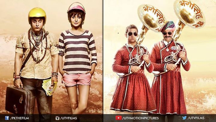 #PK, #Jaggu and #Bhairo are here with their dhamaakedar teaser to add a sparkle to your Diwali! Stay tuned!