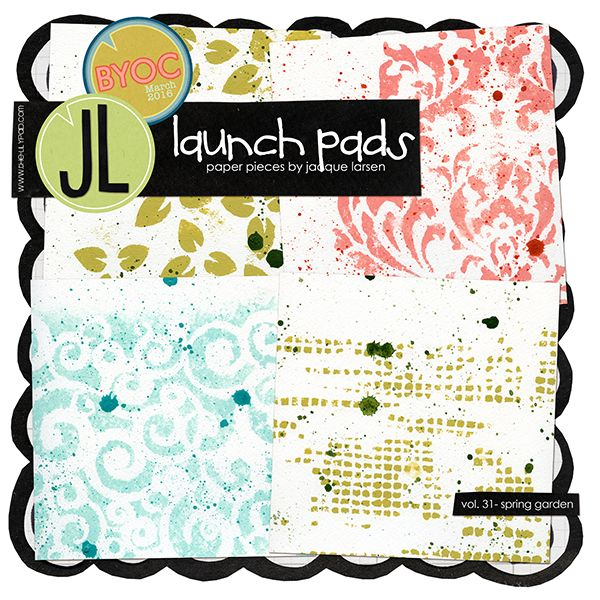 Launch Pads vol. 31 - Spring Garden by Jacque