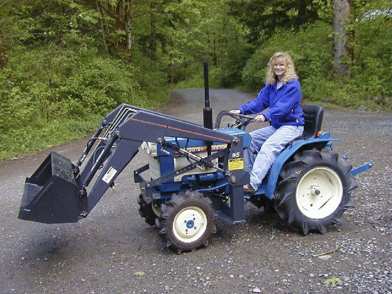Smallest Garden Tractor With Bucket : Small tractor implements google search yard and garden