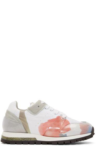 Acne Joriko Flower Sneakers 1MsjAIkD