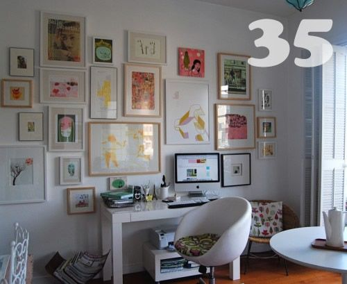 Attractive Art), The More Variation You Can Introduce With The Frames. For Example,.  Wall IdeasDecor IdeasPicture ... Idea