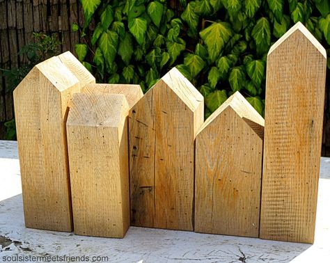 Kleine DIY Holzhäuser: schlicht & schön › soulsister meets friends #birdhouses