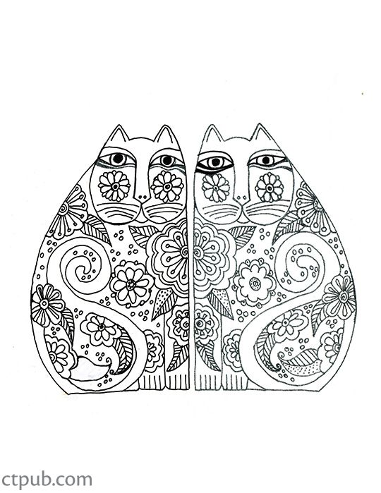 Now You Can Study The Fantastical Designs Of Laurel Burch In A Creative Stress Adult ColoringColoring BooksColouringArt