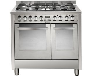 Smeg CG92X9 Freestanding Dual Fuel Range Cooker - Stainless Steel