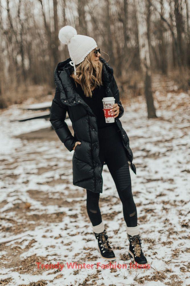 Idées de mode d'hiver à la mode #womenfashionwinter