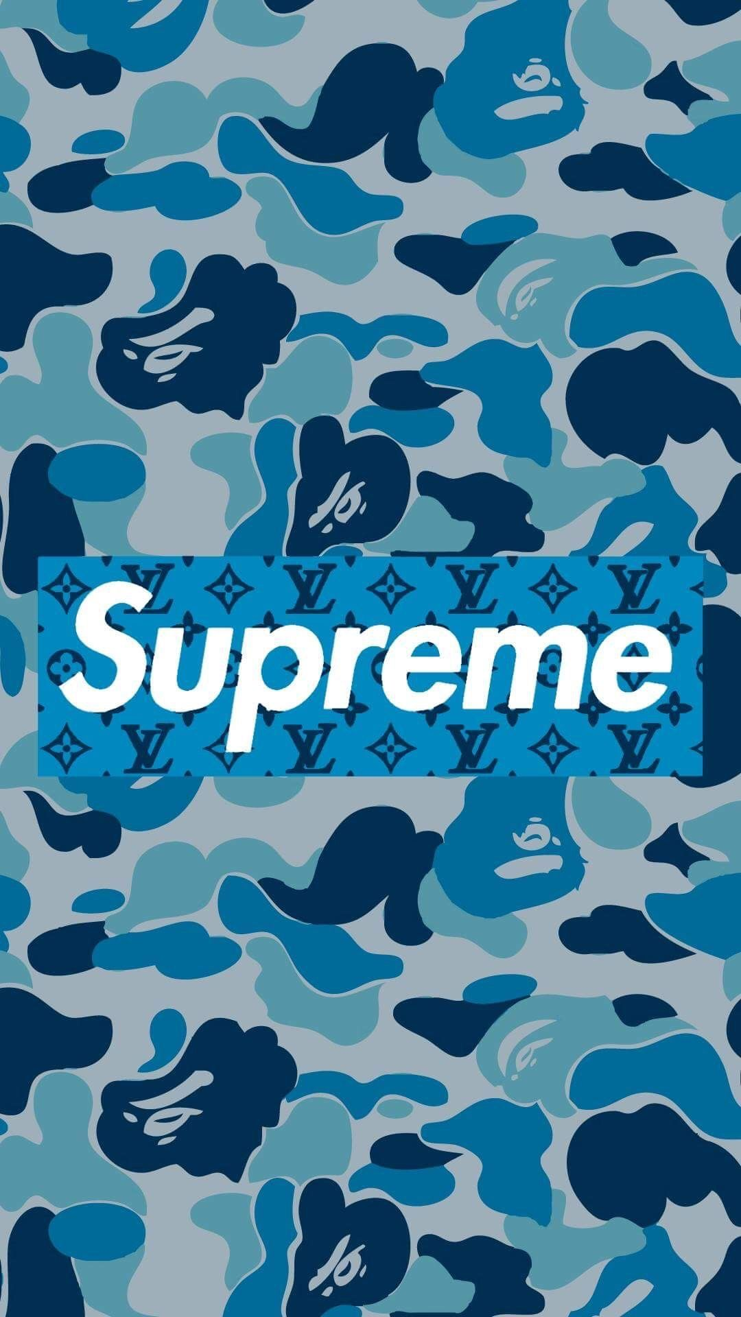 Bape Supreme Wallpaper Ios in 2020 Supreme wallpaper