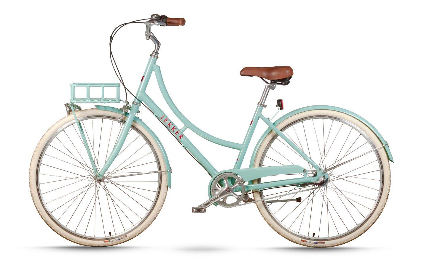 Lekker Sportief Womens Bike Pastel Blue Vintage Bikes Retro